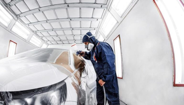 Qual as opções de filtro de ar para cabines de pintura?